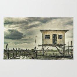 Traditional Cane House, Ecuador Rug