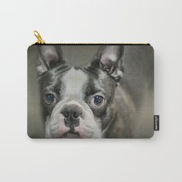 The Face Of The Boston Carry-All Pouch