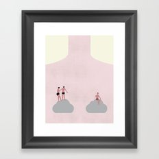 THE CLOUD Framed Art Print