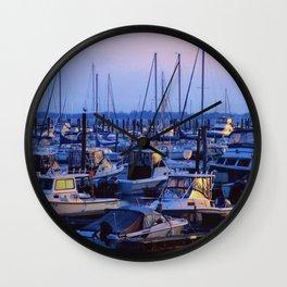 Brooklyn Marina Wall Clock