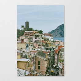 Vernazza Dreaming Canvas Print