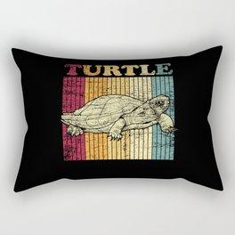 Favorite Turtle Rectangular Pillow