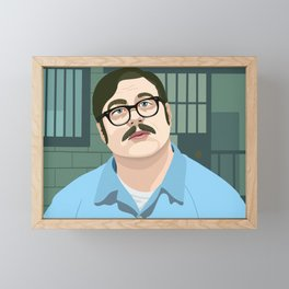 Mindhunter Ed Kemper Framed Mini Art Print