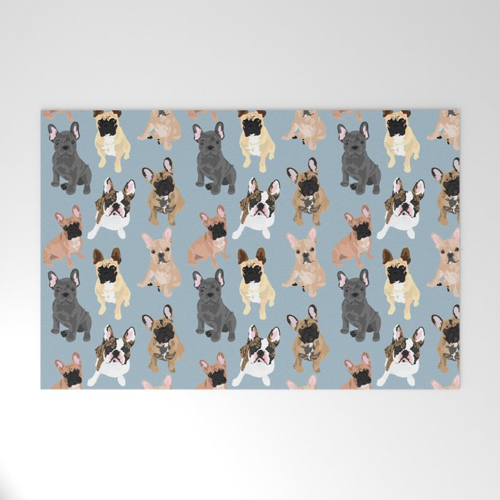 French Bulldog Welcome Mat By