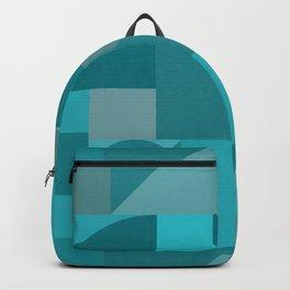 Turquoise Bauhaus Backpack