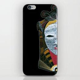 Black MASK iPhone Skin