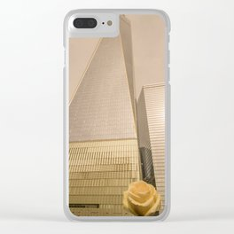 Freedom Tower World Trade Center Clear iPhone Case