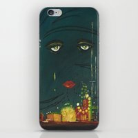 gatsby iPhone & iPod Skins featuring Gatsby by Julia Lopez