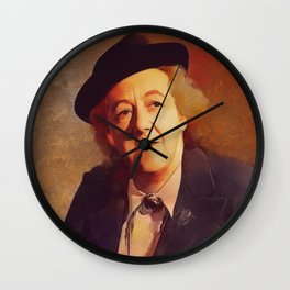 Margaret Rutherford, Movie Legend Wall Clock
