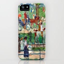 Maurice Prendergast Central Park iPhone Case