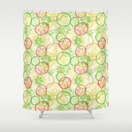 Citrus_rg Shower Curtain