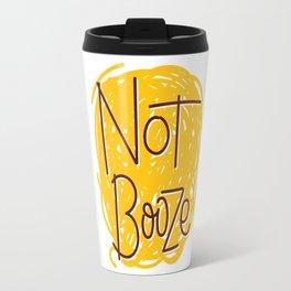 Not Booze Scribble Travel Mug