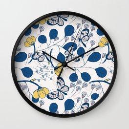 Happy Spring Wall Clock