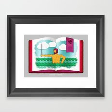 A General's Pride (by Travis Brown) Framed Art Print