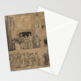 Rembrandt - Christ Presented to the People (1655) Stationery Cards