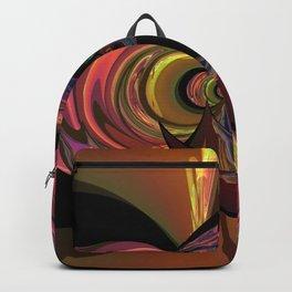 Crescent Moon Fractal Backpack
