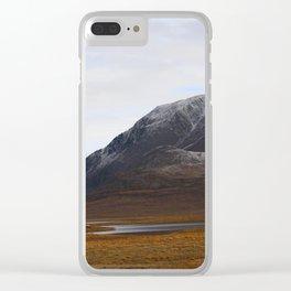 Alaska Range in Autumn Clear iPhone Case