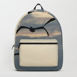 Pelicans in the Sky Backpack