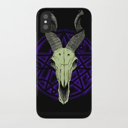 Black Goat of the Woods iPhone Case