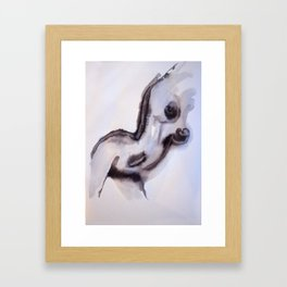 Extase Framed Art Print