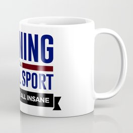 Running Is Mental Coffee Mug