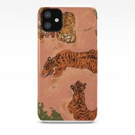 Tiger Beach iPhone Case