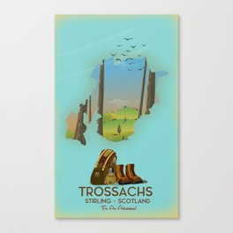 Trossachs Scotland Canvas Print