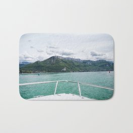 Cruising around Lake Annecy Bath Mat