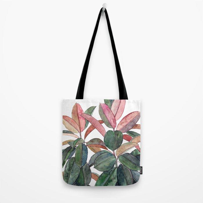 Rubber Plant Tote Bag