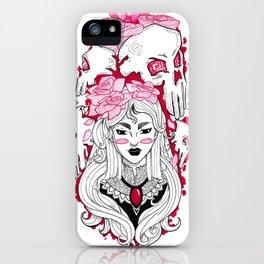 Red Queen iPhone Case