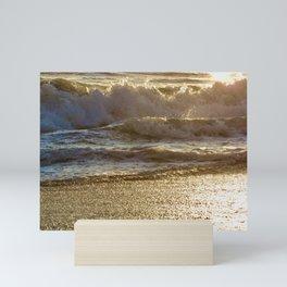 Golden Sea 02 Mini Art Print