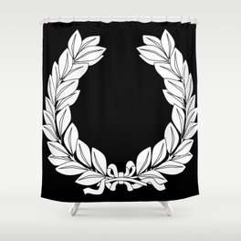 Laurel Half Tone Shower Curtain