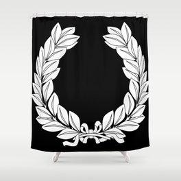 Laurel Half Tone Shower Curtain