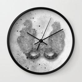 Masquerade Mask 1 Wall Clock