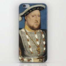 Portrait of Henry VIII of England by Hans Holbein iPhone & iPod Skin