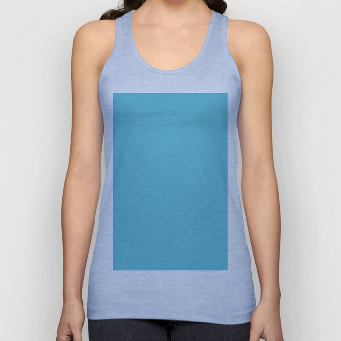 Simply Seaside Blue Unisex Tank Top
