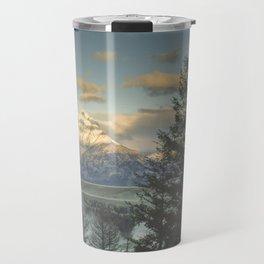 grand teton high country sunrise Travel Mug