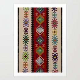 Kilim pattern #022 Art Print