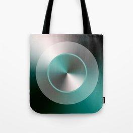 Serene Simple Hub Cap in Aqua Tote Bag