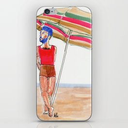 shady lady iPhone Skin
