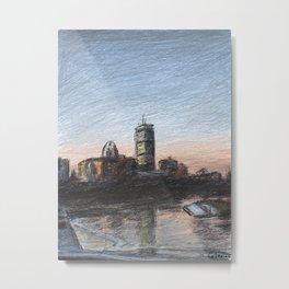Charles River Esplanade 5 Metal Print