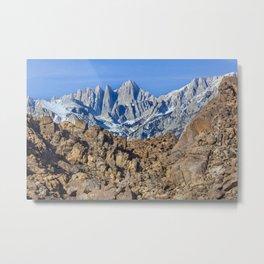 Sierra Nevada Metal Print