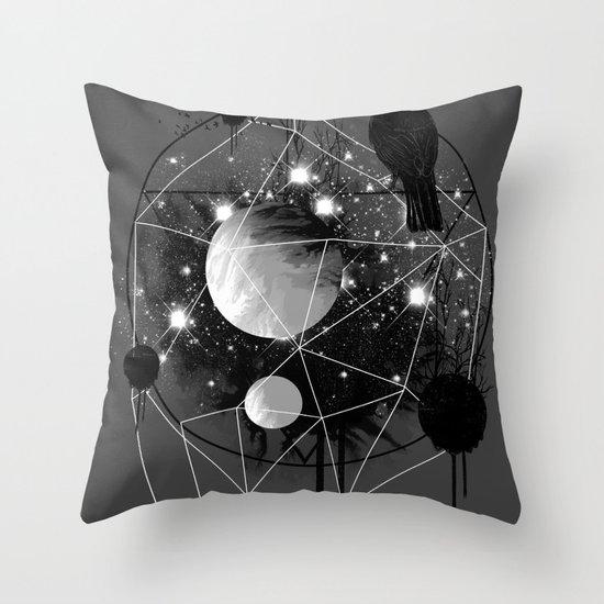 Cruel and Beautiful World Throw Pillow