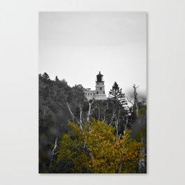 split rock light house Canvas Print