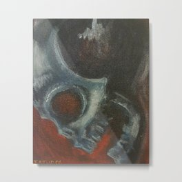 Extra Terrestrial Metal Print