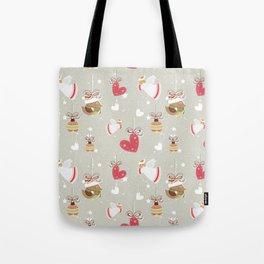 Christmas Elements Design Pattern 2 Tote Bag