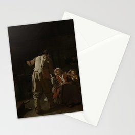 Michael Sweerts - Visiting the Sick Stationery Cards