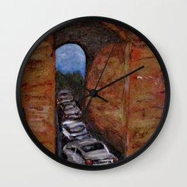 Arco Felice Traffic Jam Wall Clock