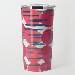 30   | 190408 Red Abstract Watercolour Travel Mug