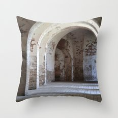past history Throw Pillow
